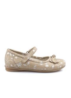 Cici Bebe Ayakkabı Deri Delikli Kız Çocuk Ayakkabısı